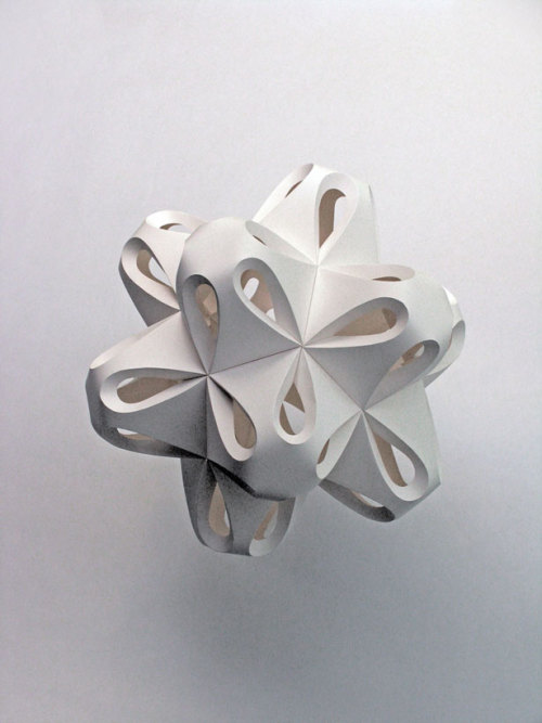 Paper sculpture by Richard Sweeney
