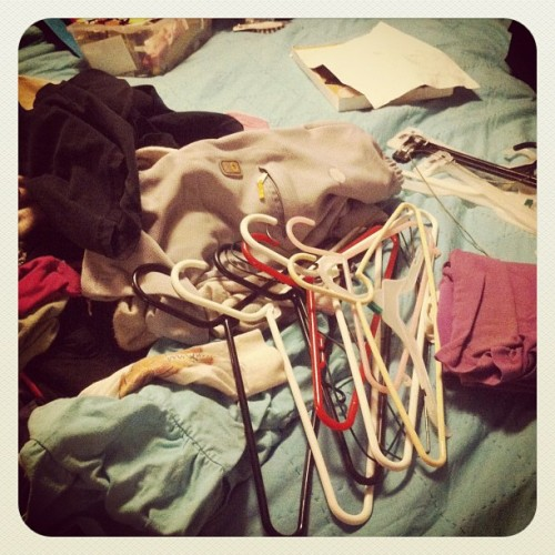 Folding laundry like a BOSS. #widn (Taken with Instagram)