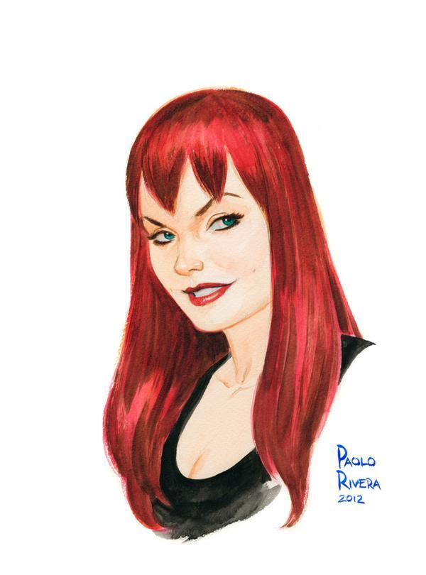 Mary Jane Watson by Paolo Rivera