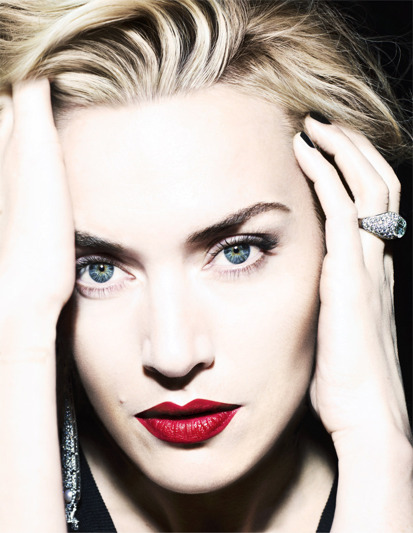 Kate Winslet by Miguel Reveriego for Vogue España August 2012