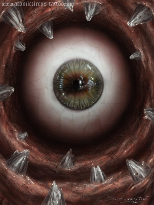 mullhawkmustdie:  eye 2 by ~AtomiccircuS