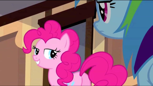 "Oh, Pinkie, you're such a tease! From ""The Last Roundup."""