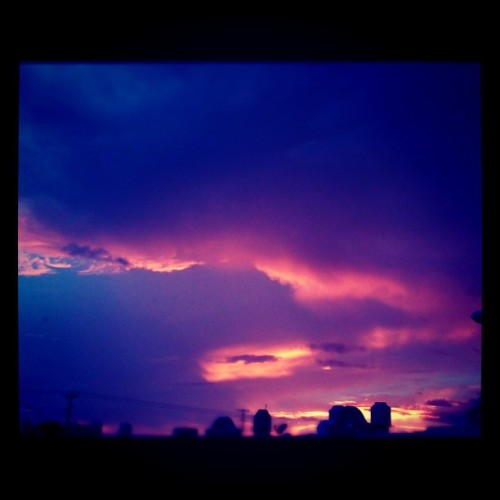 Otro atardecer en Cancun (Taken with Instagram)
