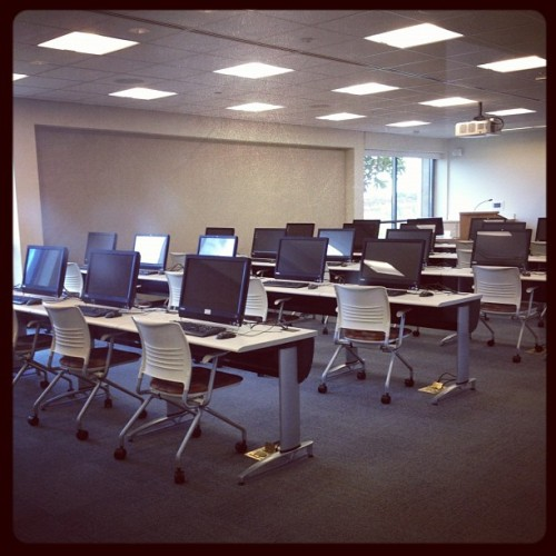 Computer room! (Taken with Instagram)