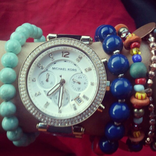 Loving my new Michael Kors watch (Taken with Instagram)