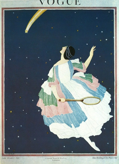 dandydayforit:  October 1921 cover of Vogue