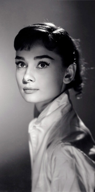 "rareaudreyhepburn:  Audrey Hepburn - Photograph by Jack Cardiff, 1956.  ""Audrey had a perfect face and her ballet training made her walk with sleek grace. She radiated elegance. It was a joy to work with her on War and Peace.""  - Jack Cardiff"