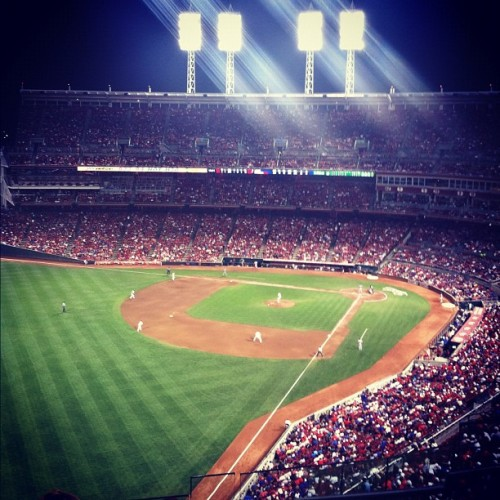 Red's game tonight! (Taken with Instagram)
