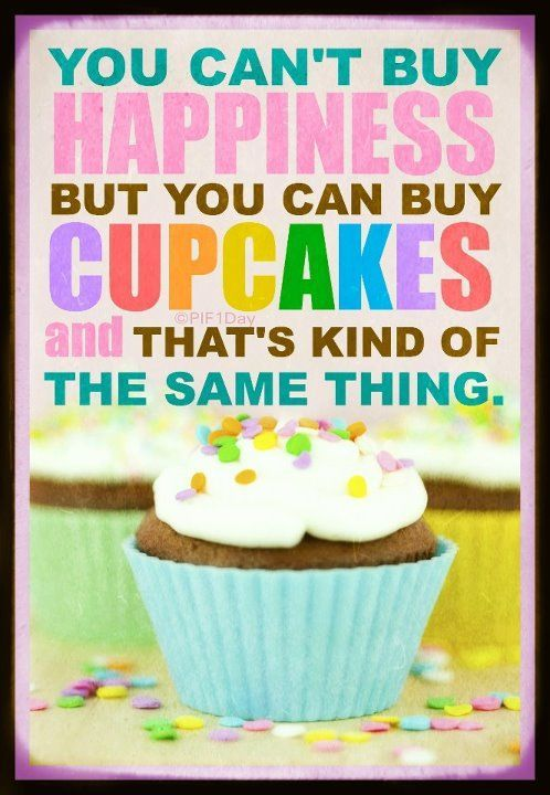 You can buy cupcakes!
