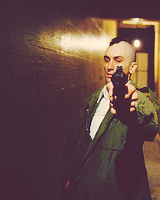 Robert De Niro on the set of 'Taxi Driver'