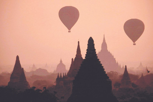 The ancient city of Bagan