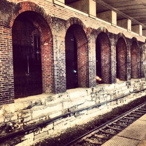 @ Arch-Laclede's Landing Metro Station (Taken with Instagram)