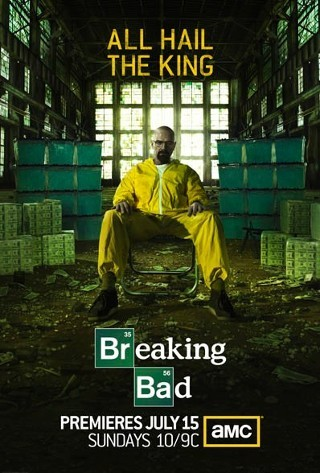 I am watching Breaking Bad I'm watching episode five, Dead freight, and from what I have heard from many people this is an amazing episode. After this, I'm all caught up and ready for tomorrow.  291 others are also watching  Breaking Bad on GetGlue.com