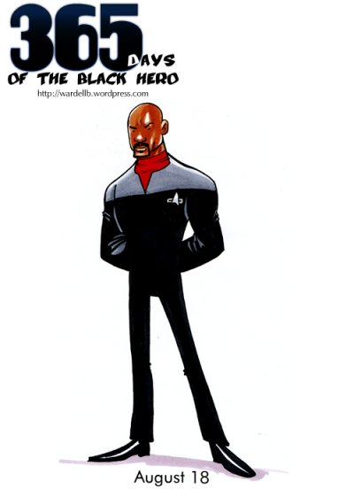 spookychan:  wardellb:  Benjamin Sisko (Star Trek: Deep Space Nine)  Even though I ended up disliking DS9 during my re-watch of the series [which is largely due to all the missed opportunities and it's failure in writing]- the major thing that sticks out as shining point from the show is it's ensemble cast. Avery Brooks as Sisko is fantastic and was a much needed hero in a very white-centric franchise that looked to push the boundaries in race and human issues. My only complaint about the Sisko character is that he falls victim to the show's inconsistency with what it wanted to accomplish and its tone. The dominion war episodes are wonderful, but the episodic day-to-day episodes cause everyone on that show to suffer.  Man, one day I should write an analysis of the show. It's good, but it's also so very bad.   Jennifaaaaahhhh!