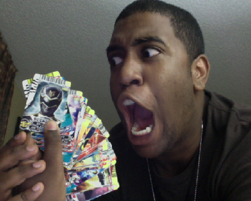 hatrulez:  51 GOSEIGER CARDS FOR ONLY $5.10!!!!!!!!!!!!!!!!!  I envy you.