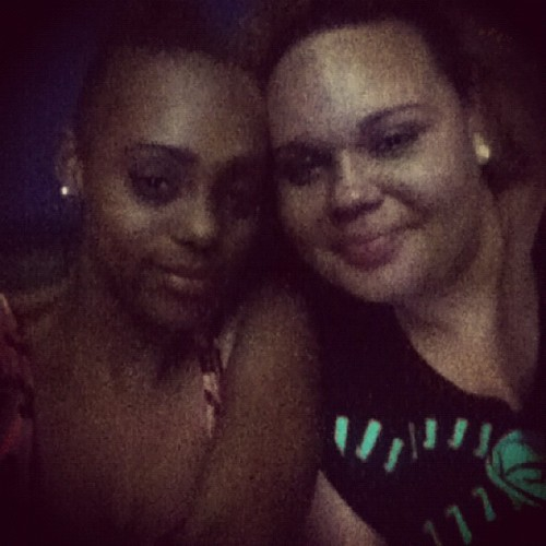 @kushnhenny & I #highaf #cuties #chillnight #bestfriend  (Taken with Instagram)