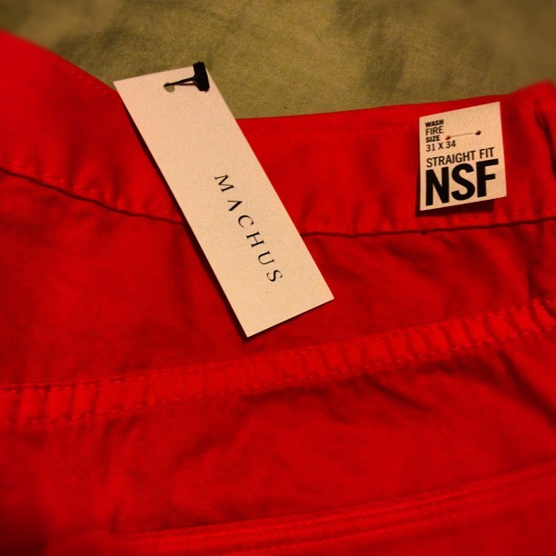 Boom. Thanks @machusonline ! #nsf (Taken with Instagram at Machus)