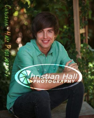Senior picture! Couldn't get rid of the watermark. :P