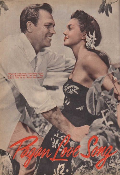 Pagan Love Song (1950) Esther Williams and Howard Keel