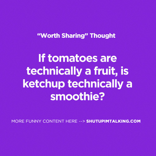 Technically a Smoothie?