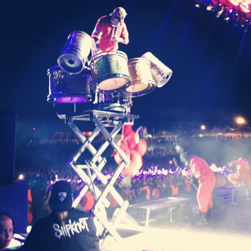 #slipknot #knotfest #forthefans  (Taken with Instagram)