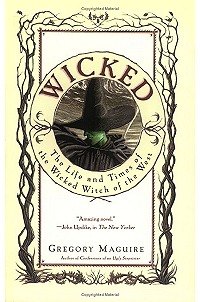 Wicked by Gregory Maguire Completed 10 August 2012 The nature of evil is at the center of Maguire's Wicked. On this side of the tale, our famed Wicked Witch of the West starts out as a rather green, precocious child, and later becomes an intelligent young woman who only wants to see justice done. We get a real sense of Oz beyond the yellow brick road, its people and the wizard himself; Dorothy enters only at the end. Anyway, Baum's Dorothy was a nauseating girl, so I was happy to read that Maguire's Dorothy was portrayed accurately - with little character and almost no mind of her own.