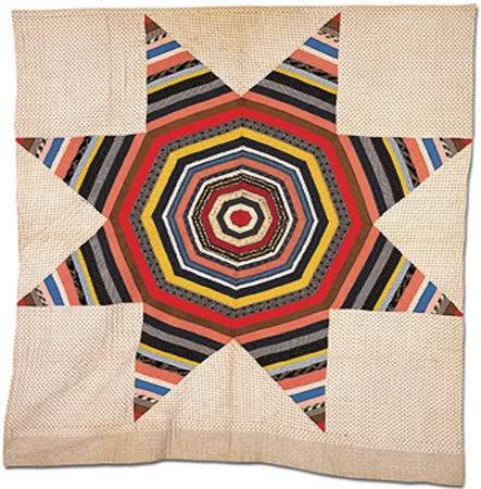 windwrinkle:  Carpenter's Square, c. 1895. Artist unknown. From the Quilts, Inc., Corporate Collection.