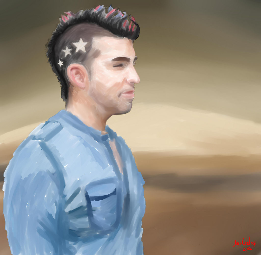 Bobak Ferdowsi and Mount Sharp -  on PaintTool SAI