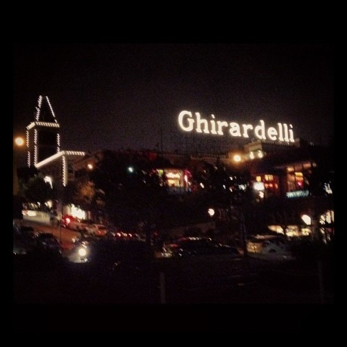 THE. SHIT. #heaven  (Taken with Instagram at Ghirardelli Ice Cream & Original Chocolate Shop)
