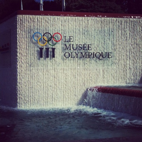 I've never mentioned that I live at the Olympic headquarters of the world. Relevant now. #lausanne #switzerland (Taken with Instagram)