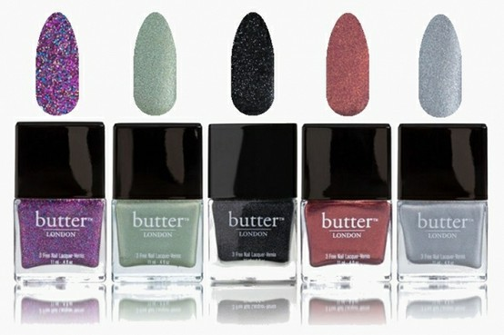 nailcandy101:  Butter London Fall Winter 2012 nail polish collection