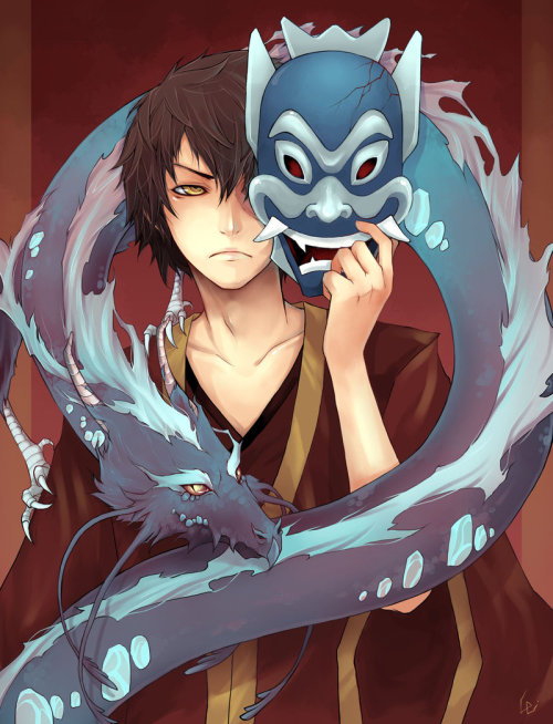 #16: Conflicted Prince Zuko as portrayed by UdonNodu.