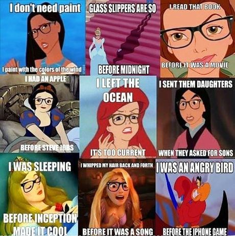 Hipster Disney Princess