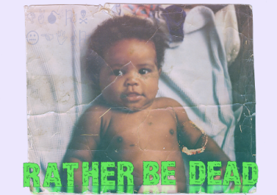 "Today I Will Release My Fourth Musical Project Titled ""Rather Be Dead"" Prolly Shouldnt Have Made Separate Posts But Whatever Anyway This Tape Will Play By With Elements Of Chillwave,Techno Pop,Film Score,Expiremental,And Free Form With Pitch Shifted,Sampled Vocals And Smooth And Distorted Synths With Also Few Collab Tracks And A Few Remixs Of Songs Thank You, DL link http://www.mediafire.com/download.php?64flie26dws5akn http://damonlamar.bandcamp.com/album/rather-be-dead LINK TO OTHER DUAL RELEASE http://damonlamar.bandcamp.com/album/dragonball-1881-ep"