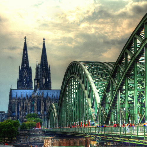 allthingseurope:  Cologne, Germany (by QL-ART)