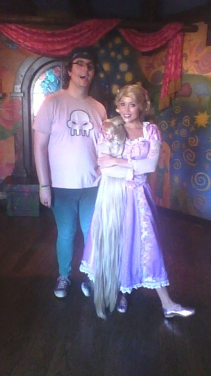 Also, I met Rapunzel!!! *endless fangirl sqeals*