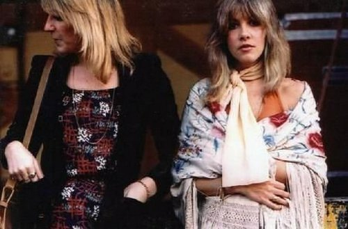 Christine McVie and Stevie Nicks
