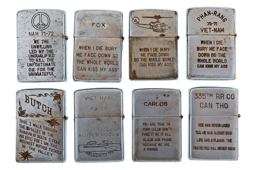 RETROSPECT: Vintage Vietnam War Zippo Lighters