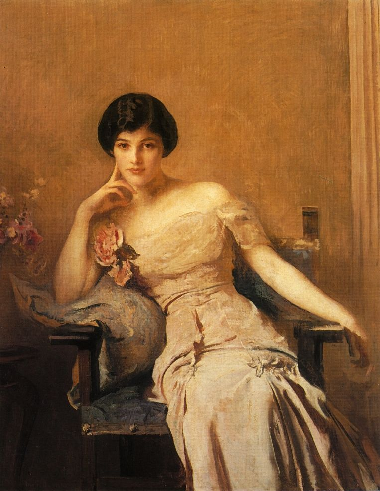 Mrs Lawrence - Edmund Tarbell 1912