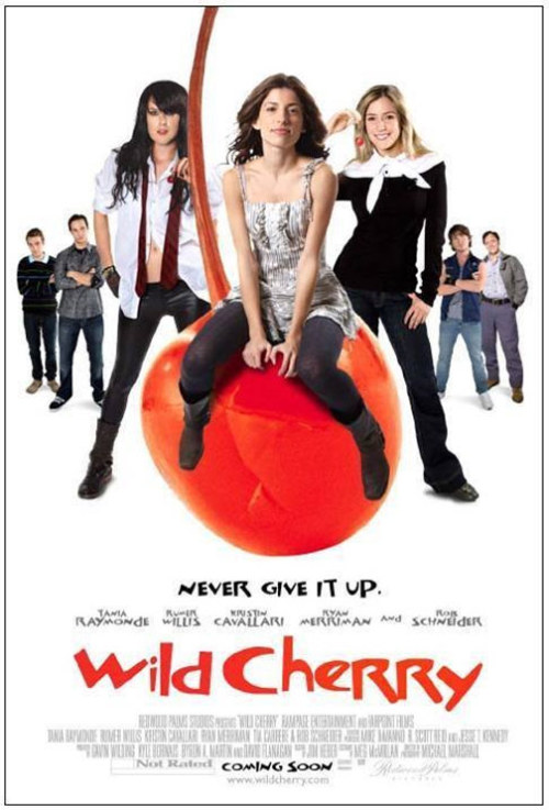 Wild Cherry (2009)  In high school, three girlfriends decide to make a secret pact with each other to wait to have sex, save themselves until they feel the time is right, despite an aggressive plan from the opposing sex.  Cast: Rumer Willis, Tania Raymonde, Kristin Cavallari, Ryan Merriman, Jesse Moss Follow this blog for the neverending list of all the teen movies ever made!