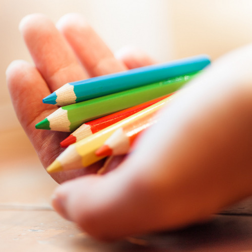 Via Flickr: Color in the Hand