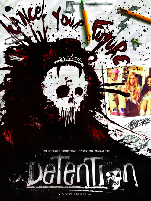 Detention (2011)  This comedy/horror movie is about a group of teens who go to Grizzly Lake High School. When one of their class mates is killed by someone dressed up as 'Cinderhella' (a character from a popular horror movie) they are all under suspicion. But when they all get detention, they try to work out who it is.  Cast: Josh Hutcherson, Spencer Locke, Dane Cook, Shanley Caswell, Jesse Heiman, Parker Bagley Follow this blog for the neverending list of all the teen movies ever made!