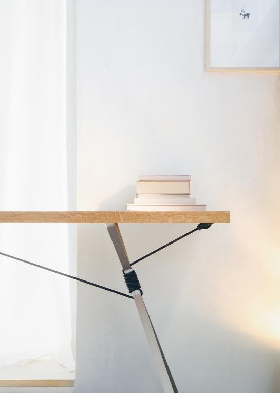 adayinthelandofnobody:  Kampenwand table by Nils Holger Moormann