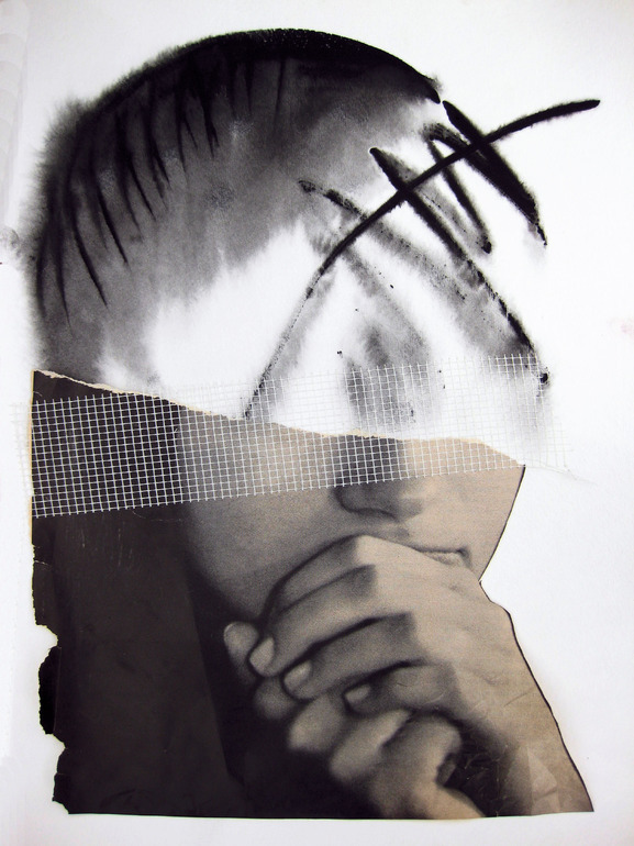 Susan Ringler - Blind Faith, 2011                       Assemblage/Collages