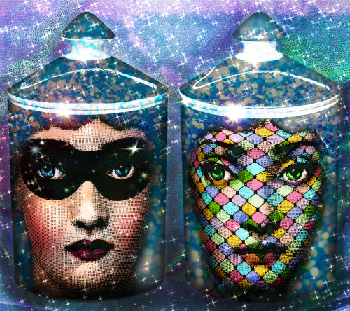 Fornasetti (with a little color assist from Amy Case)