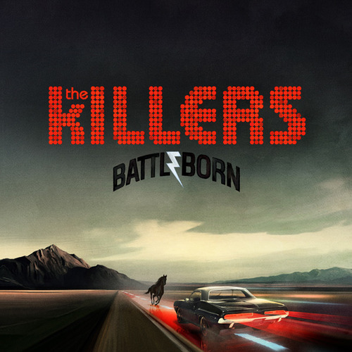 Head below to check out the tracklisting for The Killers' new album, Battle Born. The artwork is above. 1. Flesh and Bone2. Runaways3. Miss Atomic Bomb4. Here with Me5. Matter of Time6. Deadlines and Commitments7. The Way It Was8. Rising Tide9. Heart of a Girl10. From Here on Out11. Be Still12. Battle BornDeluxe Edition13. Carry Me Home14. Flesh And Bone (Jacques lu Cont Remix)15. Prize Fighter