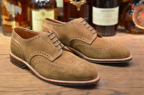 iqfashion:  Alden  Love these wing tips. Could dress them up or dress them down.