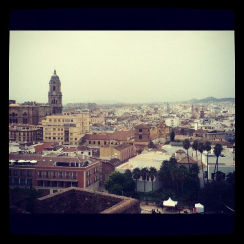 Malaga yesterday (Taken with Instagram)