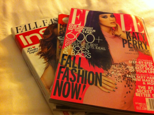 Saturday night!  A much anticipated evening in. Romcom, Elle, bubble bath! O