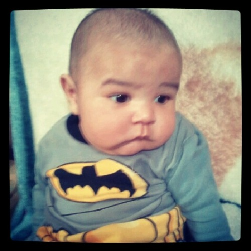 sebastian rocking his batman shirt Thanks @gato03 Instagram